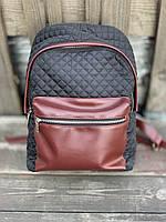 Рюкзак STKx2 чорний/бордо, фото 1