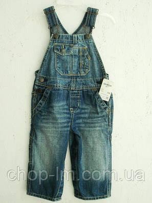 Комбенизон джинсовий OshKosh (комбез, комбінезон, джинс, джинсовий), фото 2