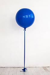 Латексный шар 45 см с гелием с обработкой , цвет на выбор
