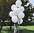 Латексный шар 45 см с гелием с обработкой , цвет на выбор, фото 2