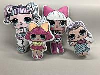 Подушка міні лялька ЛОЛ (детская декоративная подушка кукла ЛОЛ)