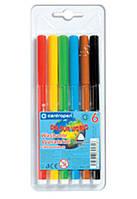 Фломастери 6 кольорів 7550 CENTROPEN 7 550