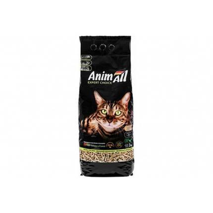 Древесный наполнитель AnimAll для котов, 3 кг, фото 2