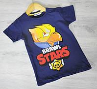 Футболка для мальчика, Ворон, Феникс ,детская футболка 5-7 лет,110-122