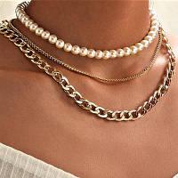 Модные женские позолоченные цепочки