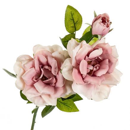 """Цветок искусственный """"Роза чайная"""" нежно-розовая, фото 2"""