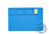 Коврик органайзер на рабочий стол TE-602 260*380 мм (силиконовый антистатический термоустойчивый)