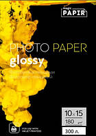 Глянцевая фотобумага 10x15, 180 г./м. PAPIR Magic (300 листов)