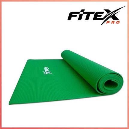 Мат для йоги Fitex, 3 мм MD9010 (зеленый), фото 2