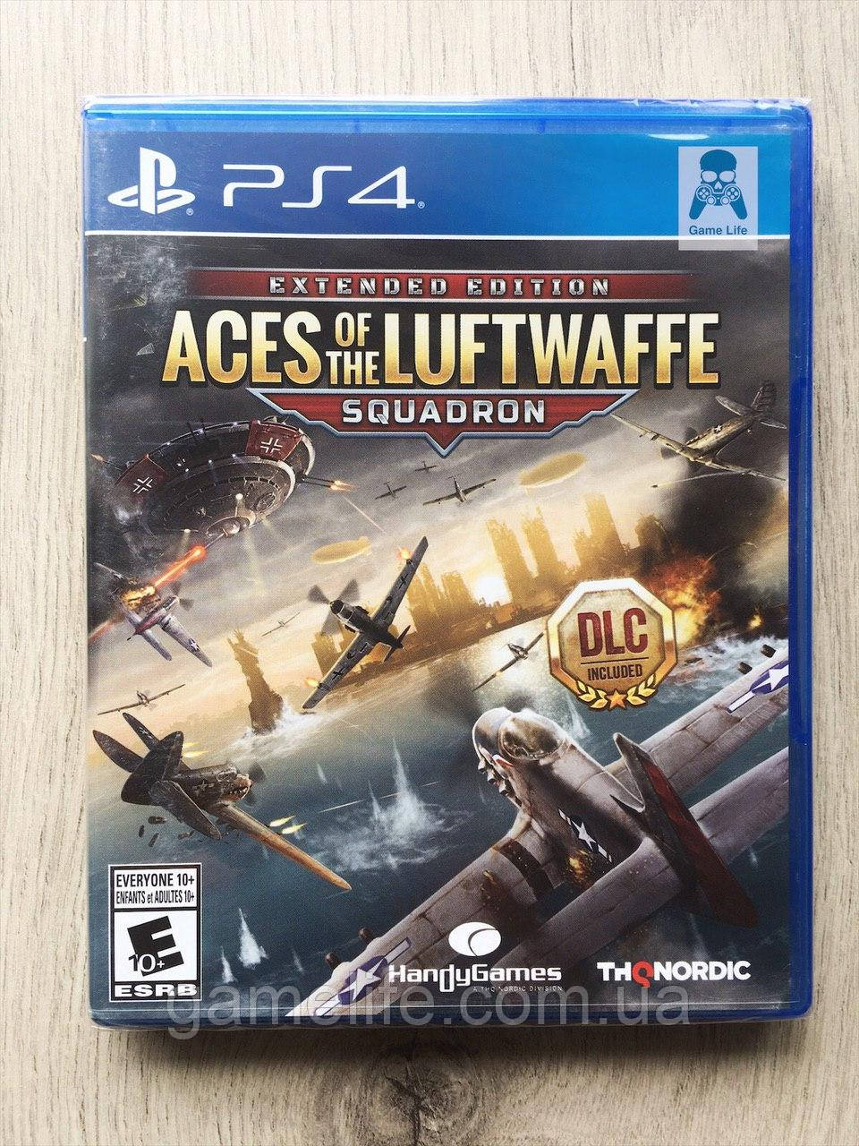 Aces of the Luftwaffe (англ.) PS4