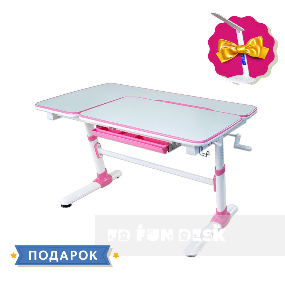 Детский стол-трансформер FunDesk Invito Pink