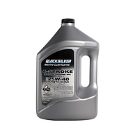 Моторное масло Quicksilver 25W40 Syntetic Blend 4л