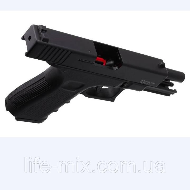 Пистолет стартовый Retay G17 Black (копия Glock 17)
