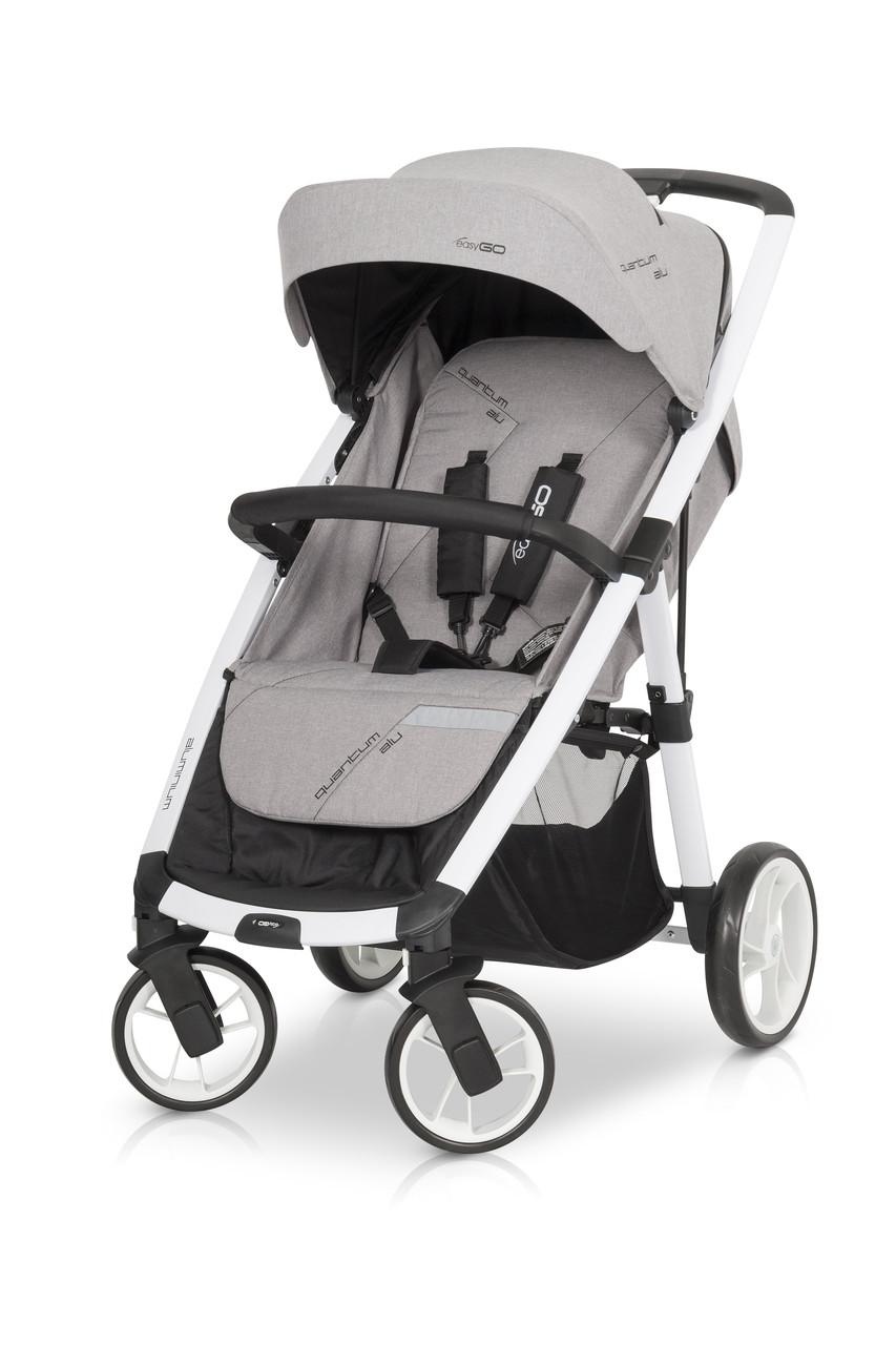 Прогулочная коляска EasyGo Quantum ALU Grey Fox