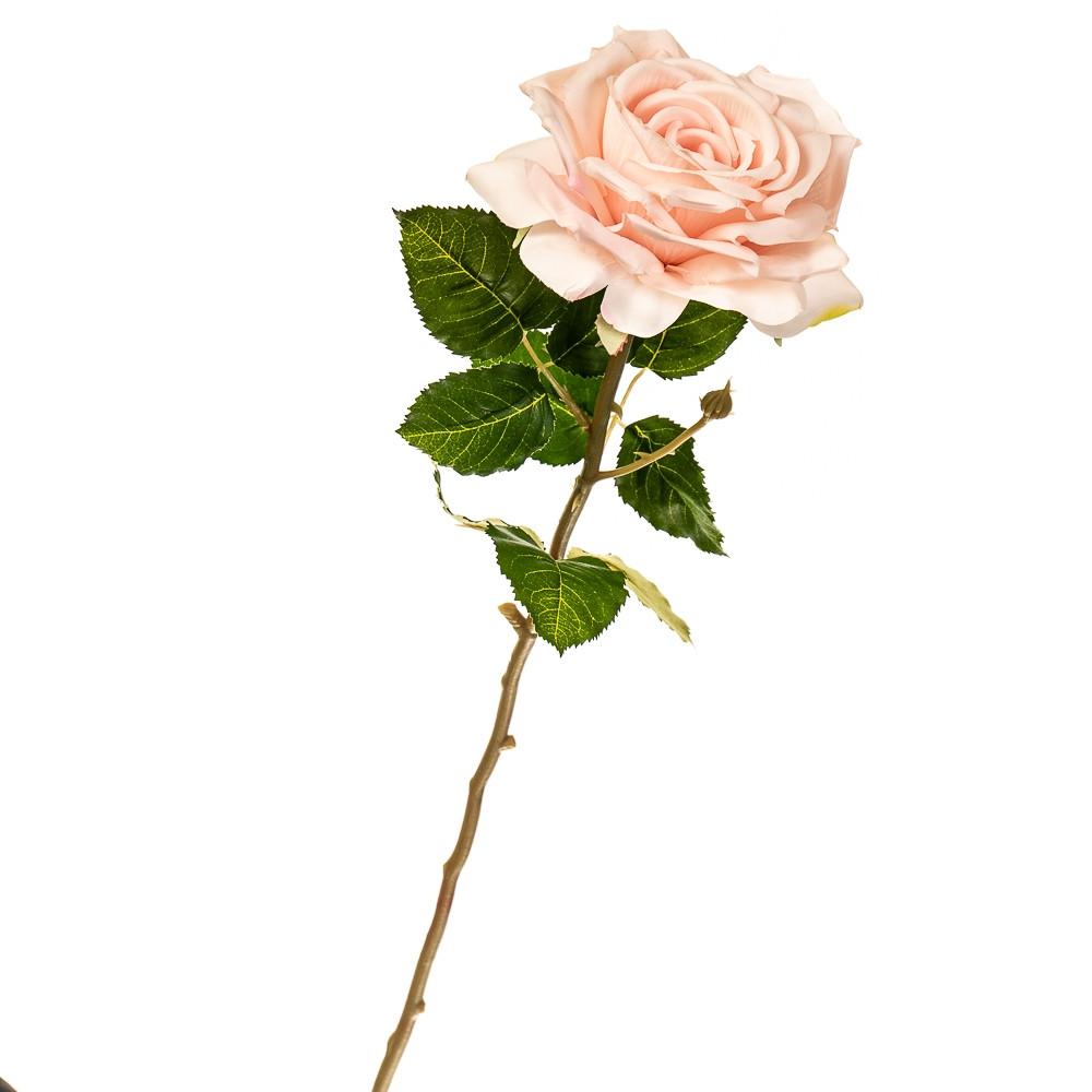 """Цветок искусственный """"Роза садовая перламутровая"""""""