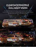 Зеркало с видеорегистратором DVR MR-10 night vision 10 дюймов FULL HD + задняя камера для парковки и записи, фото 4