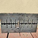 Мангал раскладной На 6 шампуров -320 грн На 8 - 365 грн На 10 - 400 грн На 12 - 450 грн, фото 5