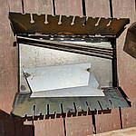 Мангал раскладной На 6 шампуров -320 грн На 8 - 365 грн На 10 - 400 грн На 12 - 450 грн, фото 3