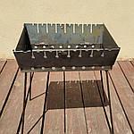 Мангал раскладной На 6 шампуров -320 грн На 8 - 365 грн На 10 - 400 грн На 12 - 450 грн, фото 2