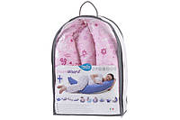 Подушки Nuvita Подушка для беременных 10 в 1 DreamWizard (розовая)