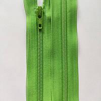 Молнии YKK спиральные неразъемные 12, 16, 18, 20, 22, 25, 30, 35, 40, 50, 60 см, разные цвета Салатовый, 120