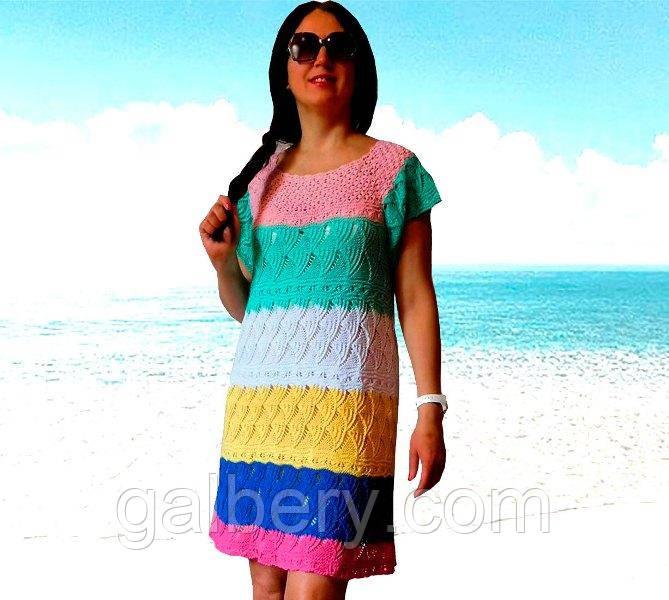 Дизайнерское платье ручной работы