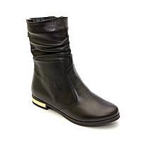 Демисезонные кожаные ботиночки низкий ход