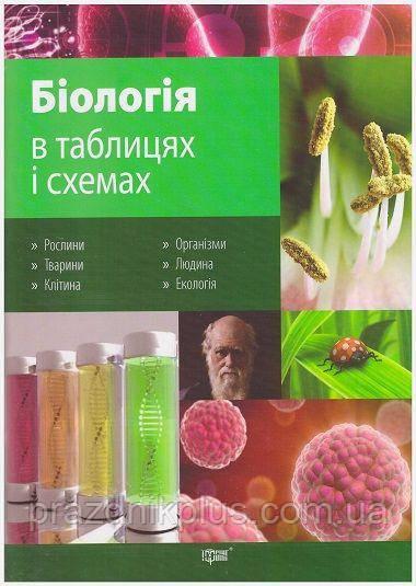 Таблицы и схемы Торсинг Биология 6-11 классы