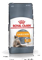Сухой корм Royal Canin Hair and Skin Care 4 кг для поддержания здоровья кожи и блеска шерсти.