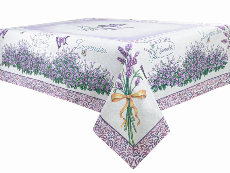 """Скатерть гобелен """"Виолет"""" 140*180 см, Lefard, 732-028"""