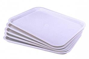 Поднос прямоугольный пластиковый 477x377