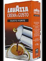 Кофе молотый Lavazza Crema e Gusto Forte 250г., фото 1