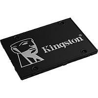 """Накопичувач SSD 2.5"""" 256GB Kingston KC600 SATAIII 3D TLC (SKC600/256G)"""