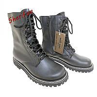 Берцы тактические ботинки на меху MIL-TEC PILOTENSTIEFEL M.PLÜSCHFUTTER U.RV Black 12814000