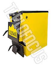 Котел твердотопливный Vulkan Classic 18 кВт  утепленный, фото 3