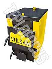 Котел твердотопливный Vulkan Classic 18 кВт  утепленный, фото 2