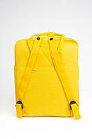 Универсальный рюкзак Fjallraven Kanken Classic 16 л Желтый, фото 4