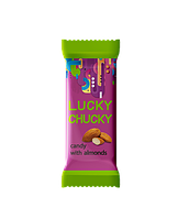 "Белорусские конфеты ""LUCKY CHUCKY"" с миндалём Коммунарка"