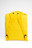Универсальный рюкзак Fjallraven Kanken Classic 16 л Желтый (тканевая подкладка люкс), фото 4