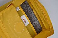 Универсальный рюкзак Fjallraven Kanken Classic 16 л Желтый (тканевая подкладка люкс), фото 8