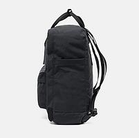 Молодежный рюкзак, сумка Fjallraven Kanken Classic, канкен класик Черный( тканевая подкладка), фото 3