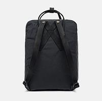 Молодежный рюкзак, сумка Fjallraven Kanken Classic, канкен класик Черный( тканевая подкладка), фото 4