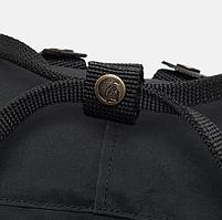 Молодежный рюкзак, сумка Fjallraven Kanken Classic, канкен класик Черный( тканевая подкладка), фото 5