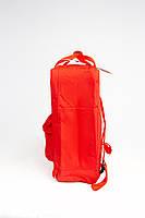 Городской рюкзак Fjallraven Kanken Classic 16 л Красный ( тканевая подкладка), фото 2
