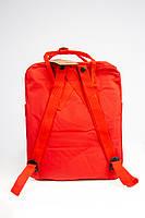 Городской рюкзак Fjallraven Kanken Classic 16 л Красный ( тканевая подкладка), фото 4