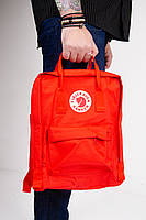 Городской рюкзак Fjallraven Kanken Classic 16 л Красный ( тканевая подкладка), фото 5