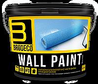 Латексная краска Wall Paint TM Brodeco 2.5л