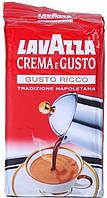 Кофе молотый Lavazza Crema e Gusto Ricco 250г.