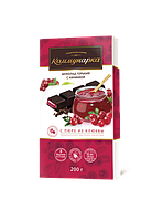 Шоколад «Коммунарка» горький с начинкой с пюре из клюквы