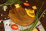 Доска ореховая «Камушек» L, фото 2